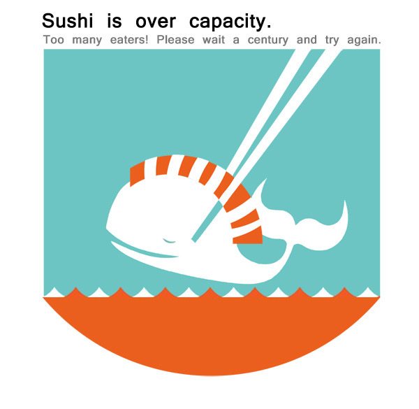 Forget Twitter. Sushi is over Capacity.
