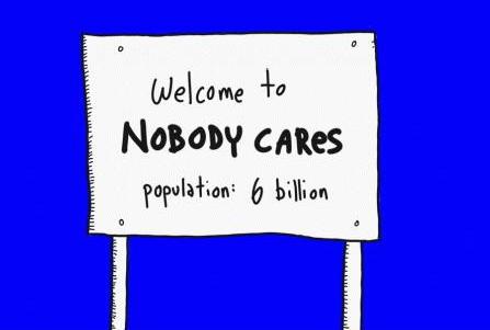 Nobody cares.
