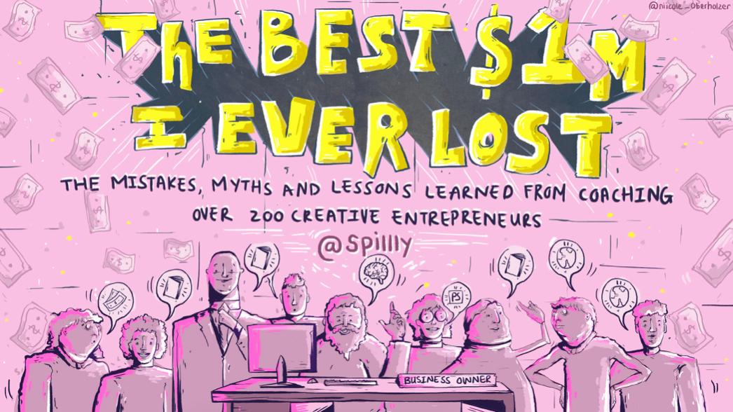 The Best $1m I lost – a keynote to OPEN WINDOW School
